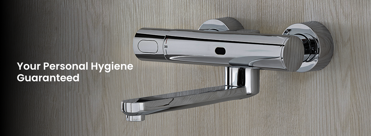 Electronic Basin Taps from GROHE at xTWO